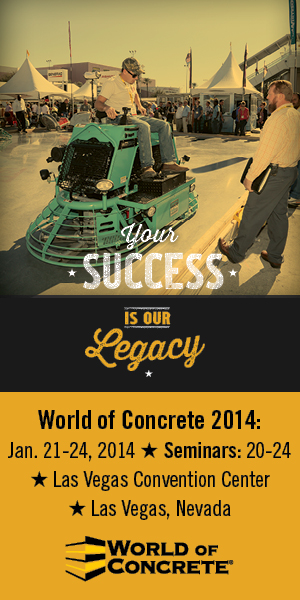 CLICK HERE to learn more about World of Concrete!