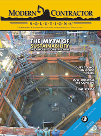 May 2014 Digital Edition of Modern Contractor Solutions