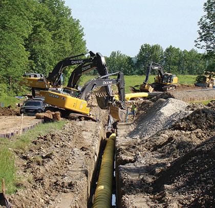 Natural Gas Utility Contractors Near Pennsylvania