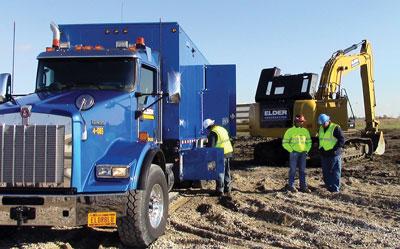 Lube Truck