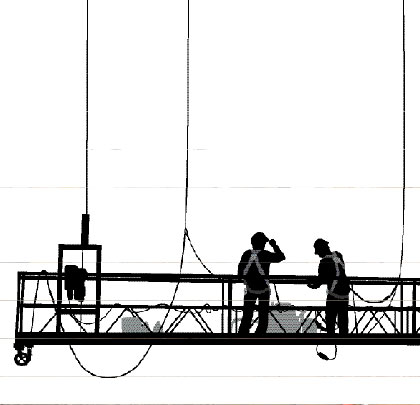 workers on scafolding