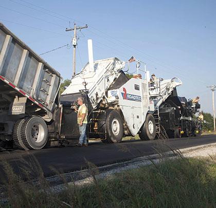 Markwell used Roadtec equipment