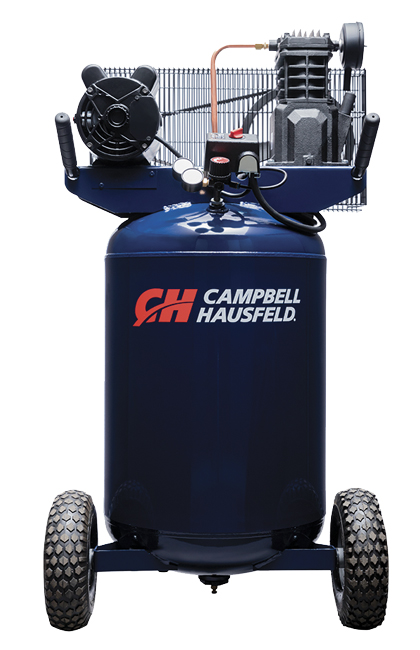 Larger air compressors in the 8- to 30-gallon range typically offer air flow from 5 cfm to 15 cfm. In making the selection, consider what types of jobsite tools will be powered with the compressor, to ensure the cfm rating of the compressor can meet the needs of the job.