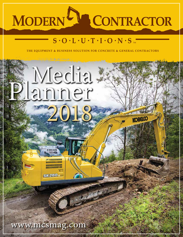 Click Here To View A PDF of the 2018 Modern Contractor Solutions Media Kit